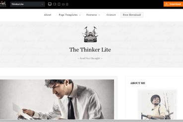 Бесплатная тема WordPress для блога