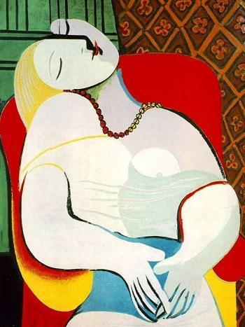 Пабло Пикассо. Сон, 1932