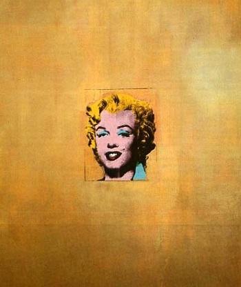 Энди Уорхол. Золотая Мэрилин Монро, 1962