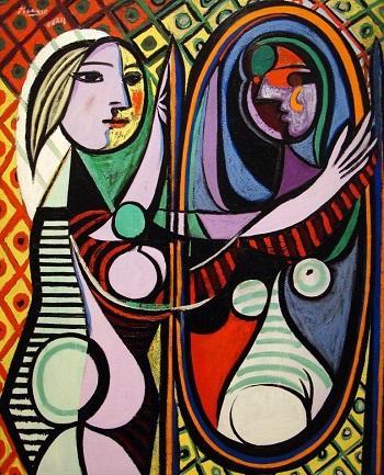 Пабло Пикассо. Девушка перед зеркалом, 1932