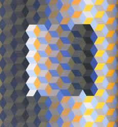 Виктор Вазарелли. Уважение к шестиугольнику, 1969