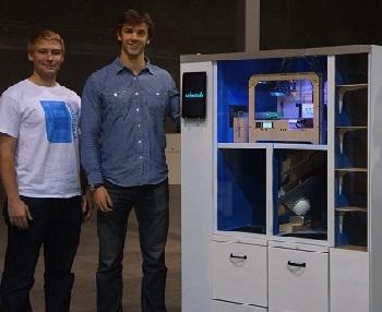 Торговый автомат Dreambox с 3D принтером