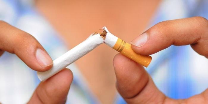 Защититься от инфаркта, бросить курить