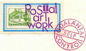 Mail art by György Galántai, 1981