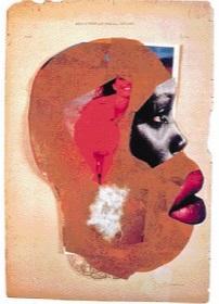 """Ванчеги Муту. Коллаж """"Половые органы взрослой женщины"""", 2005"""