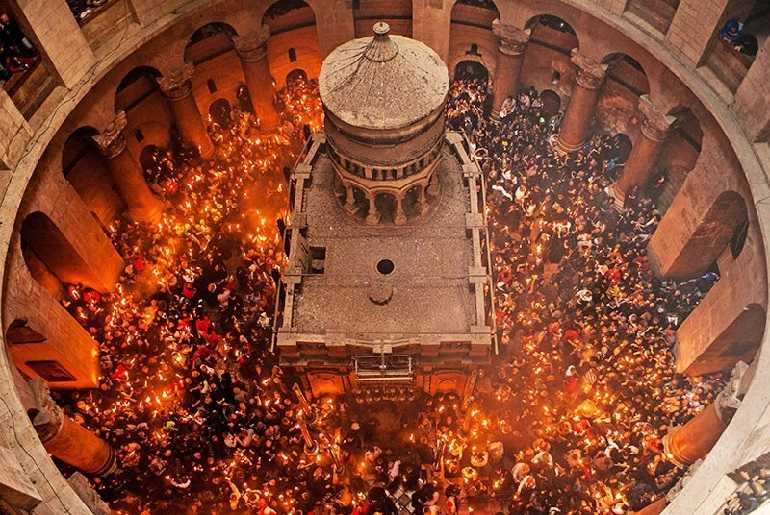 схождение благодатного огня 2017