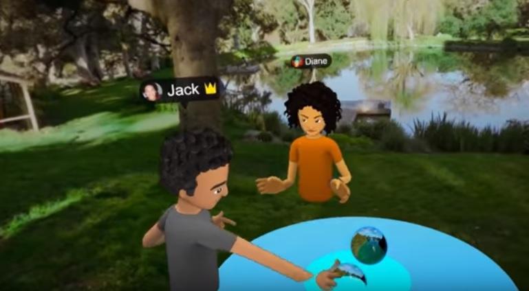 социальная сеть виртуальной реальности