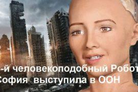 Робот София видео на русском