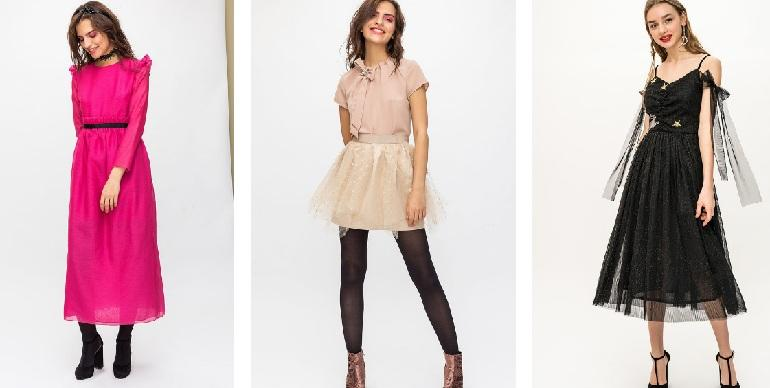 Новогоднее платье 2018 купить в интернет магазине