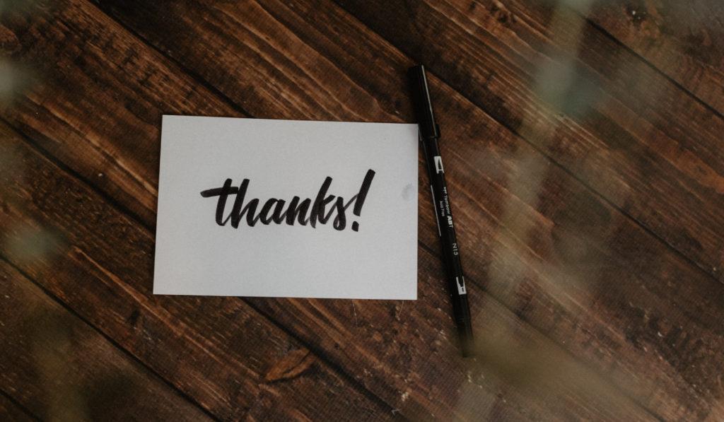 100 привычек: Благодарите