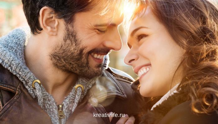Залог успешного брака, красивая пара союз