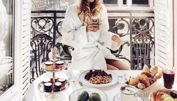 Идеальное утро и завтрак