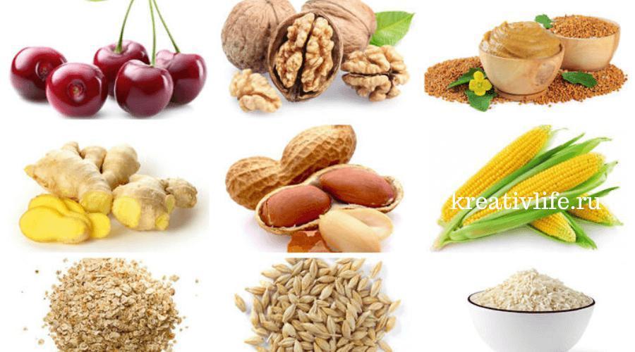 Мелатонин содержится в продуктах