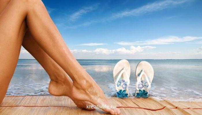 как привести с порядок ноги к лету