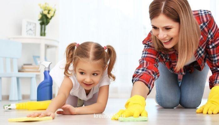 как приобщить ребенка к домашним делам