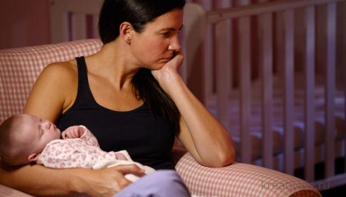 Послеродовая депрессия: симптомы и признаки