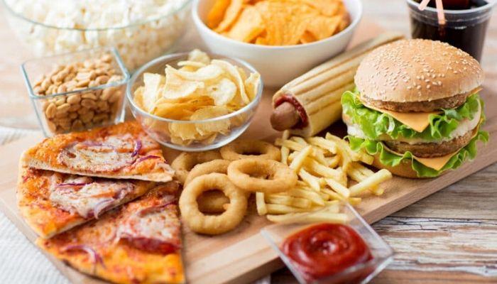 Магазинная вредная еда